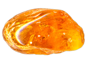 Arhanghelul Uriel - Chihlimbar piatra semipretioasa