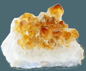 Arhanghelului Gabriel - piatra naturala citrin
