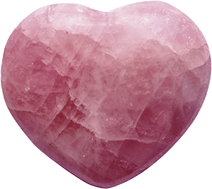 Arhanghelul Ariel - piatra semipretioasa cuart roz