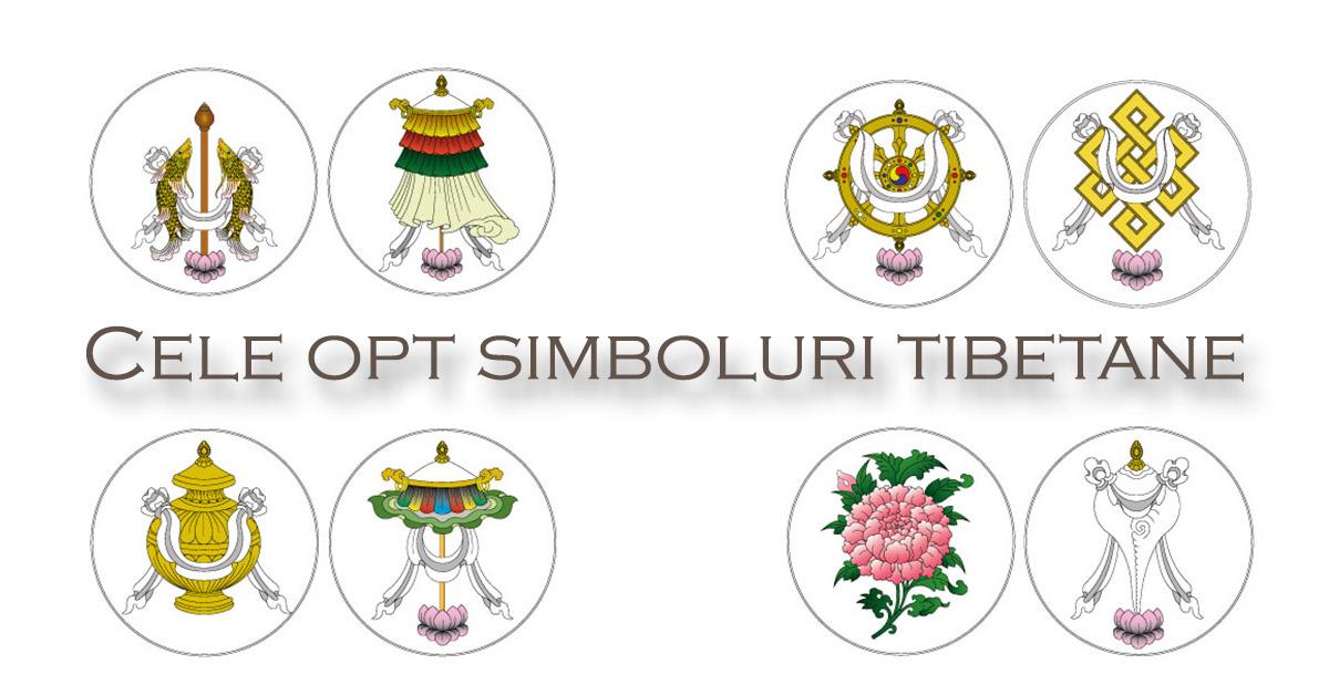 Cele opt simboluri tibetane