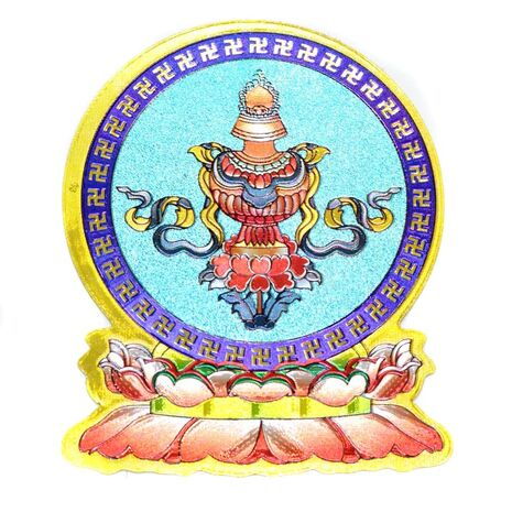 Cele opt simboluri tibetane-bolul prosperitatii