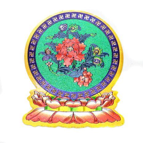 Cele opt simboluri tibetane-lotus