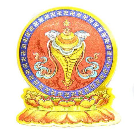 Cele opt simboluri tibetane-scoica