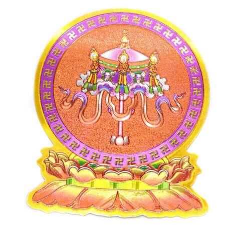 Cele opt simboluri tibetane-umbrela