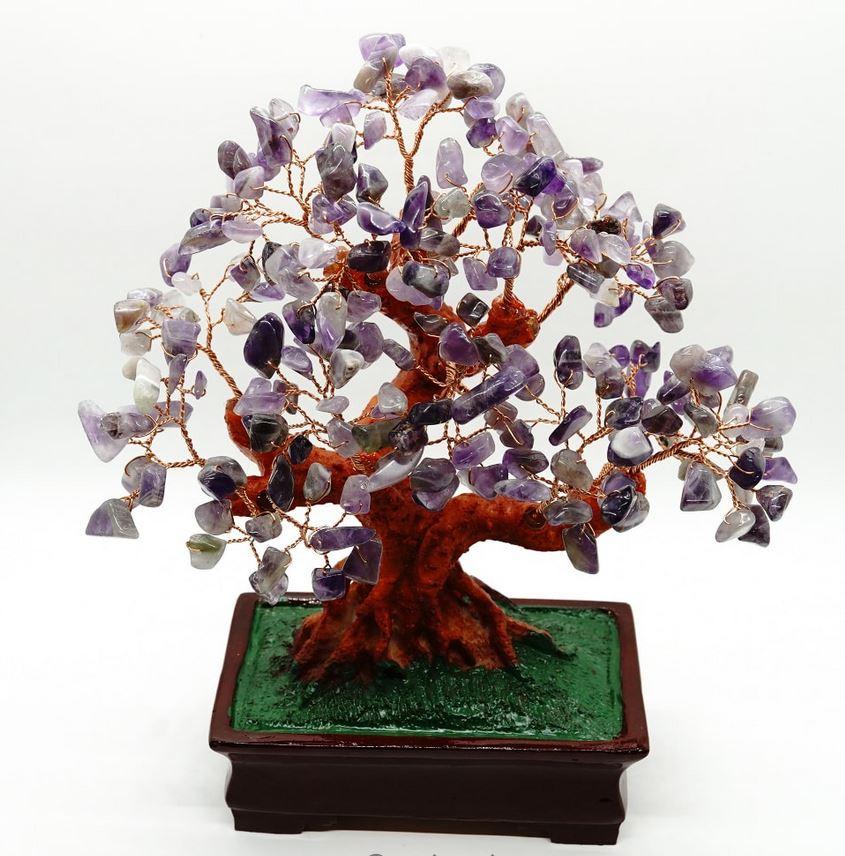 Cum putem utiliza copacii cu cristale-ametist