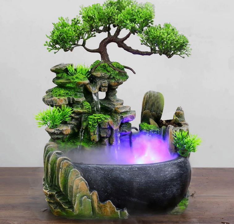 Cum se utilizeaza fantanile in feng shui-bonsai