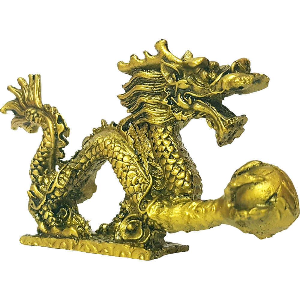 Dragonul cu perla-auriu