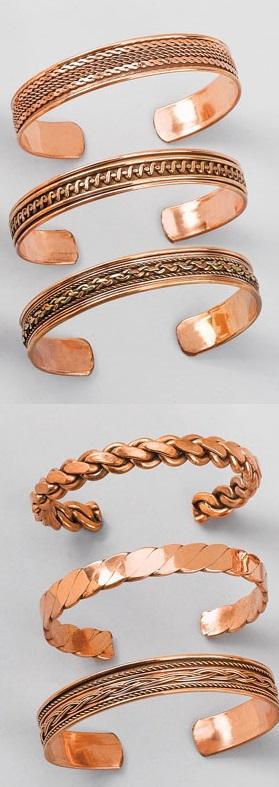 Proprietatile purtarii bijuteriilor din cupru-bratara india