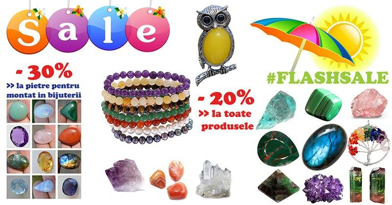 #Flashsale - un weekend plin de reduceri la StoneMania Bijou