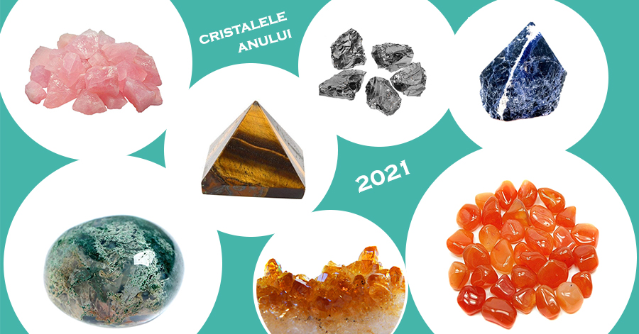 Cristale naturale recomandate in 2021
