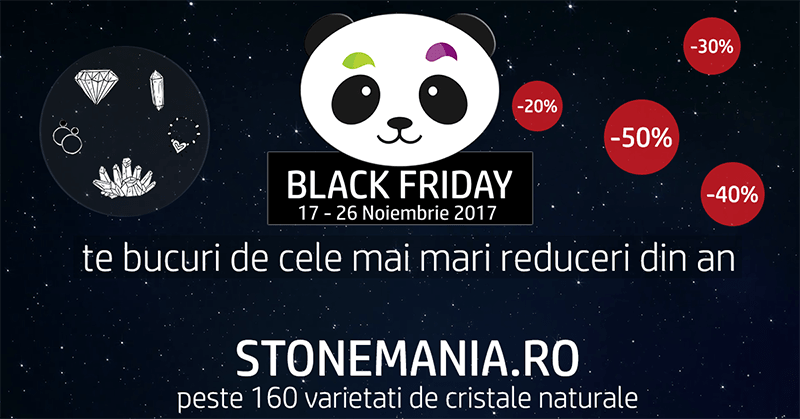 Black Friday StoneMania Bijou 2017 pietre semipretioase
