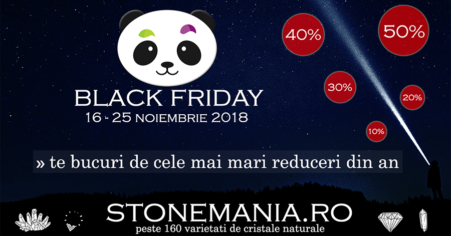Black Friday 2018 StoneMania Bijou - Bijuterii pietre semipretioase
