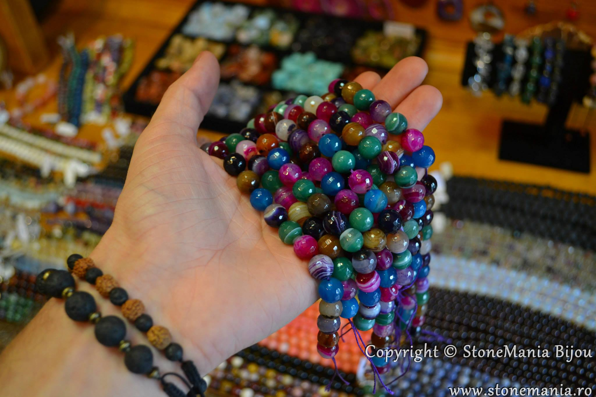 Bijuteri agate pietre semipretioase