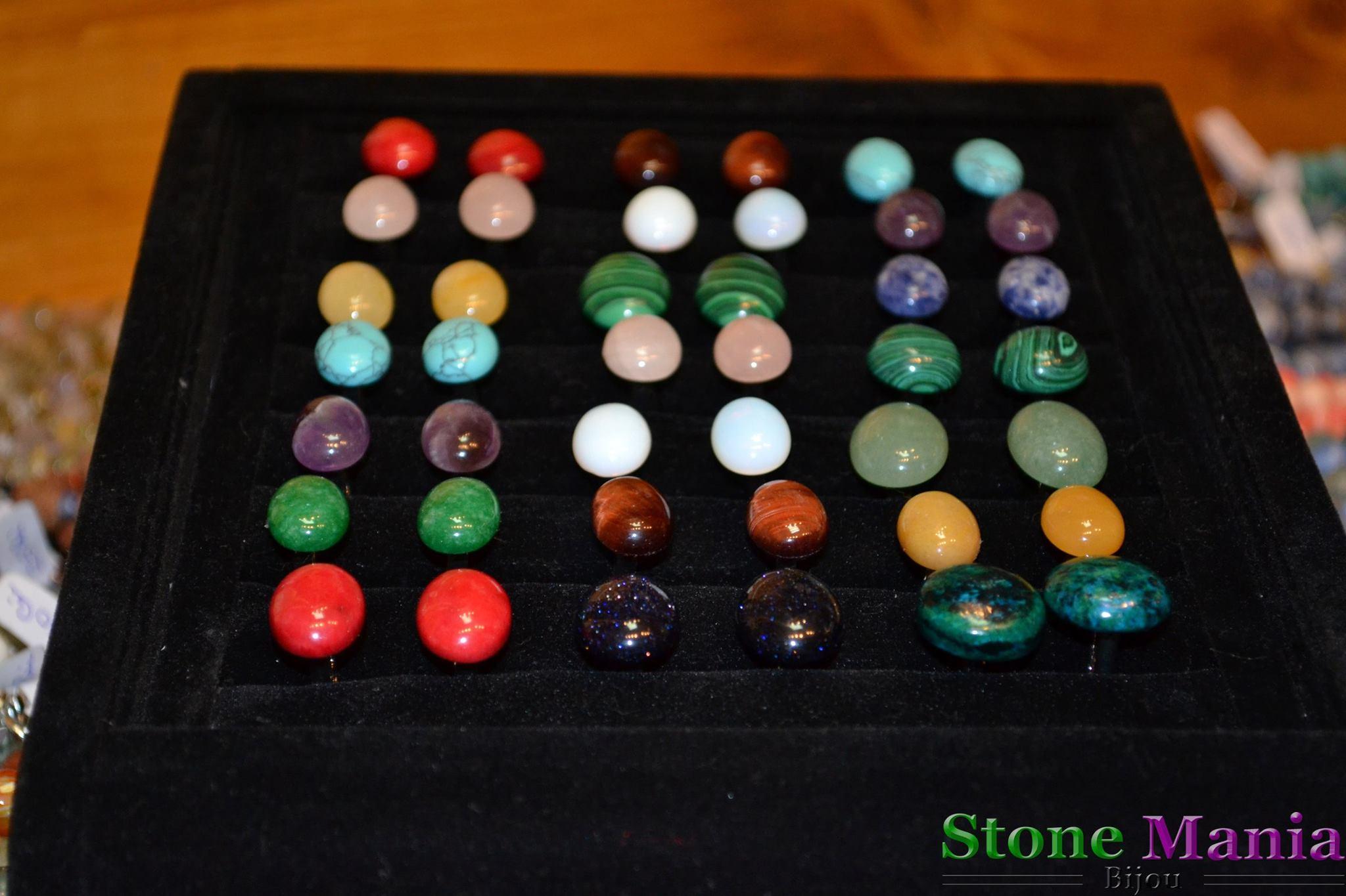 Butoni pietre semipretioase stonemania