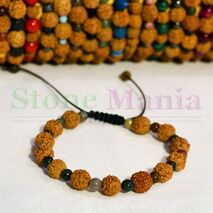 Bratara rudraksha originala si agat indian