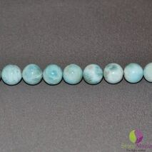 Bratara Attitude larimar sfere 10mm si argint 925