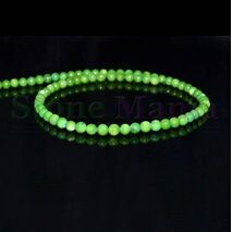 Colier sidef verde sfere 6mm