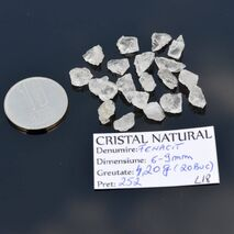 Lot 20 Fenacite Brazilia 6-9mm L18