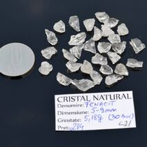 Lot 30 Fenacite Brazilia 5-9mm L21