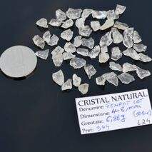 Lot 50 Fenacite Brazilia 4-8mm L24