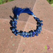 Sirag lapis lazuli briolete fatetate manual 9-11mm M5