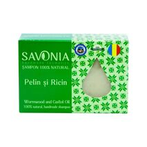 Sampon solid natural Savonia - Pelin si Ricin