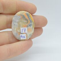 Cabochon jasp bumble bee 32x26x4mm A24