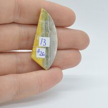 Cabochon jasp bumble bee 39x16x4mm A26