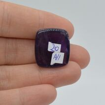 Cabochon ametist 21x19x9mm A11, imagine 2