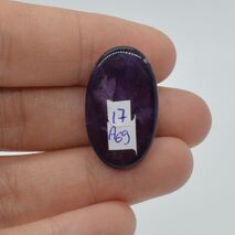 Cabochon ametist 26x16x8mm A69, imagine 2