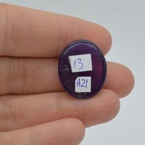 Cabochon ametist 21x18x7mm A21, imagine 2