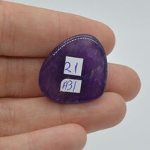 Cabochon ametist 26x22x8mm A31, imagine 2