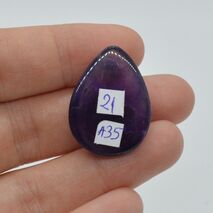 Cabochon ametist 27x20x8mm A35, imagine 2