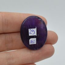 Cabochon ametist 30x24x8mm A45, imagine 2