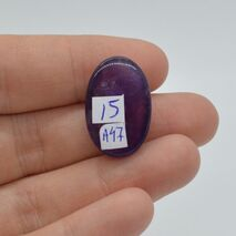 Cabochon ametist 23x15x8mm A47, imagine 2