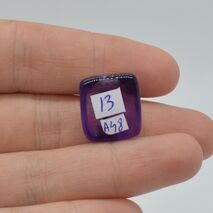 Cabochon ametist 17x15x8mm A48, imagine 2