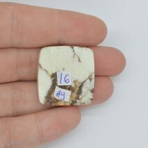 Cabochon magnezit 25x24x6mm A9, imagine 2