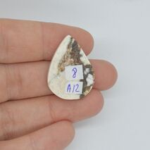 Cabochon magnezit 27x19x5mm A12, imagine 2