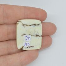 Cabochon magnezit 29x24x6mm A13, imagine 2