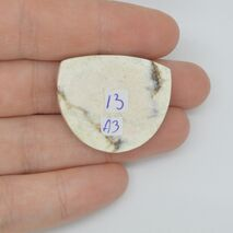 Cabochon magnezit 30x25x5mm A3, imagine 2
