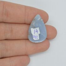 Cabochon angelit 25x18x6mm A22, imagine 2