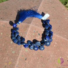 Sirag lapis lazuli briolete fatetate manual 12-14mm M7