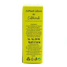 Extract uleios de Catina, Solaris 30ml