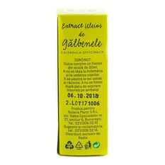 Extract uleios de Galbenele, Solaris 30ml